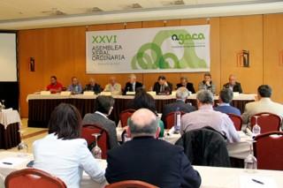 AGACA apoya al sector lácteo en la manifestación de este viernes