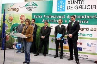 La conselleira inaugura Cimag-GandAgro apelando a la internacionalización del sector lácteo