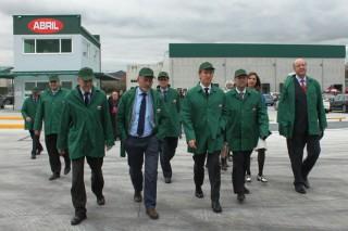 Aceites Abril inaugura la primera planta de refinación de aceite en Galicia