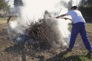A partir de mañana pueden solicitarse de nuevo los permisos para realizar quemas