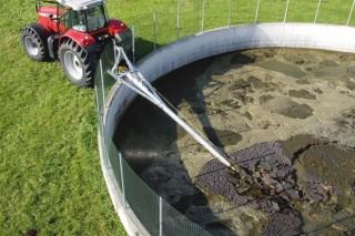 El agua de lluvia ocupa hasta el 40% de las fosas de purín no cubiertas