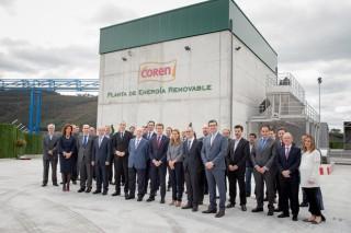 Coren pone en marcha la Planta Energética de Biomasa Ganadera