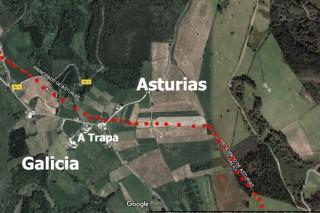 Ganaderos penalizados en las ayudas del PDR por vivir en el limite entre Galicia y Asturias