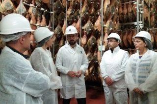 Torre de Núñez prevé duplicar su producción de jamones en tres años