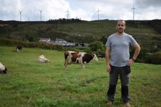 David Arnoso: un ganadero de leche que supo sacar el máximo provecho de la montaña