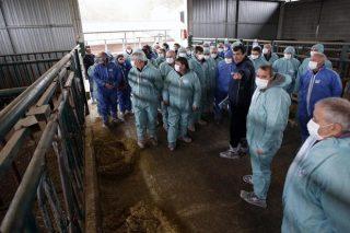 Doscientos ganaderos de Africor Coruña se forman en Xenética  Fontao en reproducción bovina