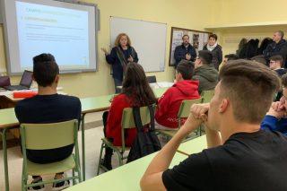 La Diputación de Lugo «siembra» el emprendimiento en el campo entre estudiantes del IES de Becerreá