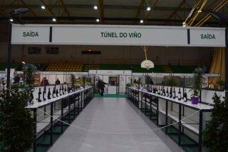 Túnel del vino de la DO Monterrei en la feria Agro + Verín