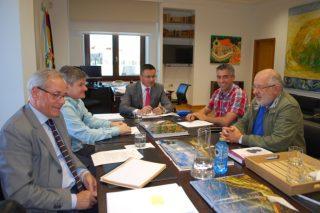 Sintonía entre la Xunta y la Sociedad Gallega de Pastos para fomentar el pastoreo