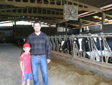 Ganadería Fraga, una granja de vacas 'excelentes'