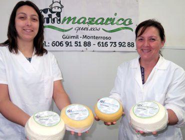 Mazarico, un queso fresco único hecho en Monterroso