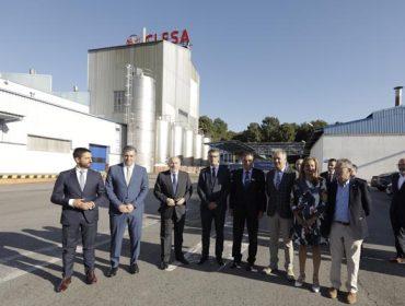 Clun y Clesa ponen en valor el papel industrial de las cooperativas en una visita ministerial