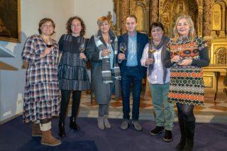 Xulia, Iria, Duvi y Eva: bodegueras de O Ribeiro a favor de la igualdad