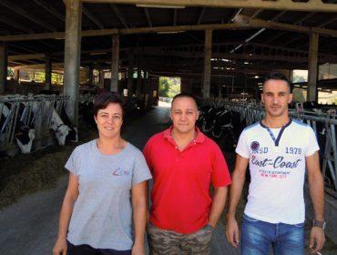 Penenza SL, la unión con futuro de dos explotaciones de leche