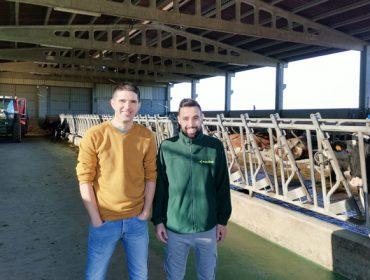 Agroxaqui, una ganadería donde priman las rutinas de higiene y la calidad del agua
