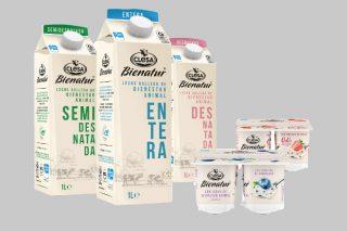"""Clesa lanza """"Bienatur"""", su nueva gama de leches y yogures de bienestar animal"""