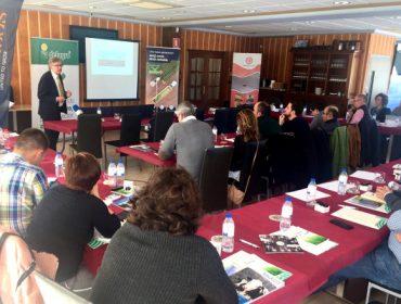 La cooperativa Delagro reúne a 50 profesionales en una jornada sobre cultivo de forrajes en la cornisa cantábrica