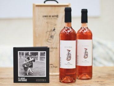 Ponte da Boga presenta su nuevo vino rosado de la Ribeira Sacra