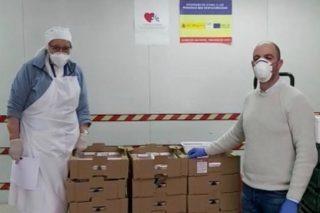 AgroCantabria dona alimentos para ayudar a los colectivos más vulnerables frente al coronavirus