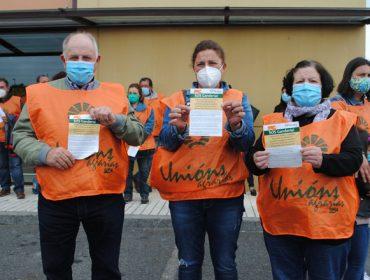 Protesta de ganaderos de vacuno de carne en A Limia