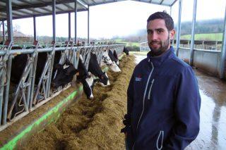 «Tenía claro que me quería dedicar a esto desde pequeño, siempre me gustaron las vacas»