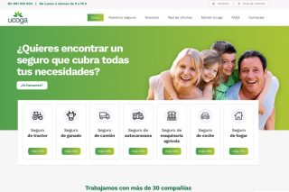 Ucoga seguros estrena nueva web