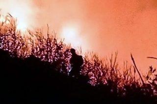 Ourense arde sobre quemado