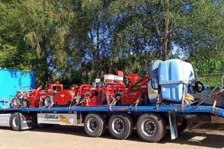 Jornada demostrativa de mecanización de la huerta en Sergude