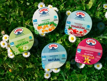 Yogures Larsa, más de 50 años de éxito con la misma receta