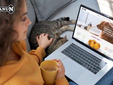 Piensos Canun lanza su nueva web