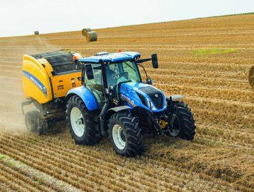 New Holland amplía su serie de tractores T6 en el modelo de 6 cilindros con una versión de 135cv