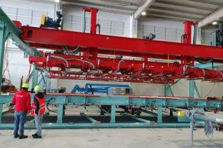 Arranca la primera fábrica gallega de madera estructural para construcción