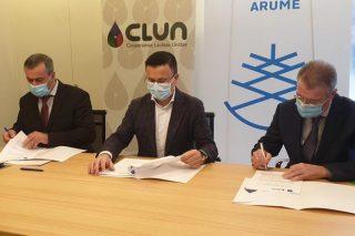 La Fundación Arume y la cooperativa Clun firman un convenio para proyectos de restauración forestal
