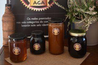 Estos son las 4 mejores mieles del concurso Meles 5 Estrelas