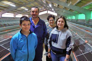 Ganadería Arriba do Río SC, producción de conejo y carne de vacuno