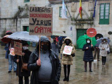 Concentración en Melide para exigir la reapertura del mercado campesino