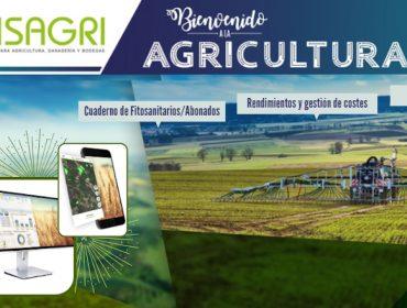 Con ISAGRI el cuaderno de fitosanitarios y de abonado…a un click