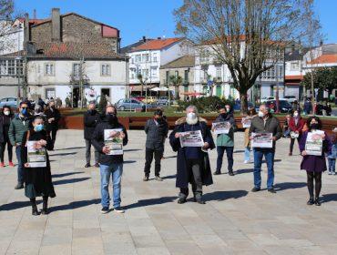 Concentraciones de protesta contra el Plan Forestal de Galicia en el Día Internacional de los Bosques