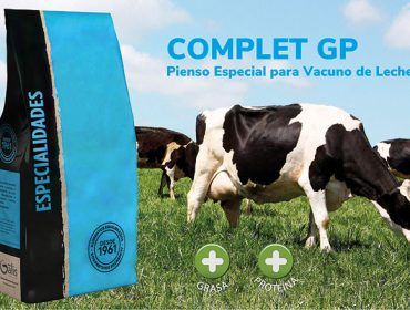 Complet G-P, un pienso complementario que mejora la grasa y proteína de la leche