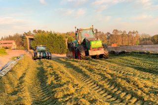 Ensilado de hierba 2021: buena calidad pero menos cantidad al adelantarse la campaña