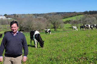 Ganadería Vence, la granja de uno de los promotores del cooperativismo agroganadero en Galicia