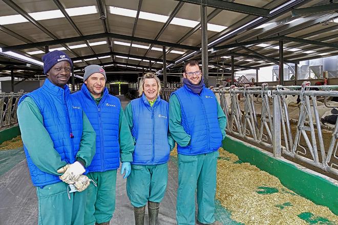 SAT Teixeiro, confort para el ganado y aumento de produción con los robots