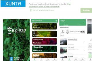 Actualizada la App de la Xunta para disfrutar del enoturismo en Galicia