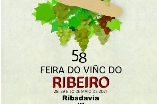La Feira do Viño do Ribeiro 2021 presenta su programación