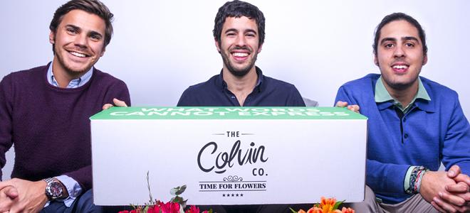 Colvin, la 'start-up' que revolucionó el mundo de la flor al eliminar intermediarios