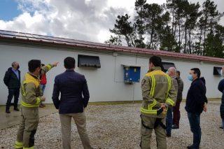 Granxa Fondevila, protección contra incendios con un sistema de aspersión de agua