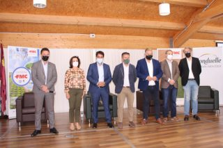 La Cátedra de FMC de la UPCT presenta el bioestimulante Seamac® Rhizo y reflexiona sobre los retos de la sostenibilidad y digitalización en la agricultura