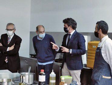 Una 'masterclass' del cocinero Yayo Daporta cierra la primera edición del Aula Gastronómica Galicia Calidade