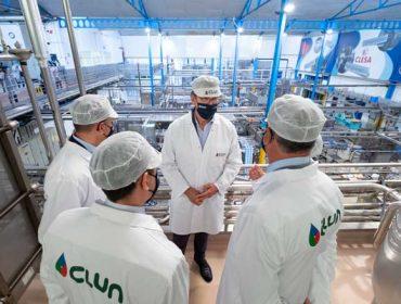 Respaldo institucional a Clesa, una de las referencias de éxito del cooperativismo lácteo gallego