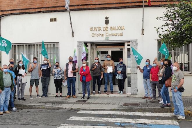 Ganaderos de vacuno de carne reclaman en Lalín ayudas directas para paliar las pérdidas por la Covid-19